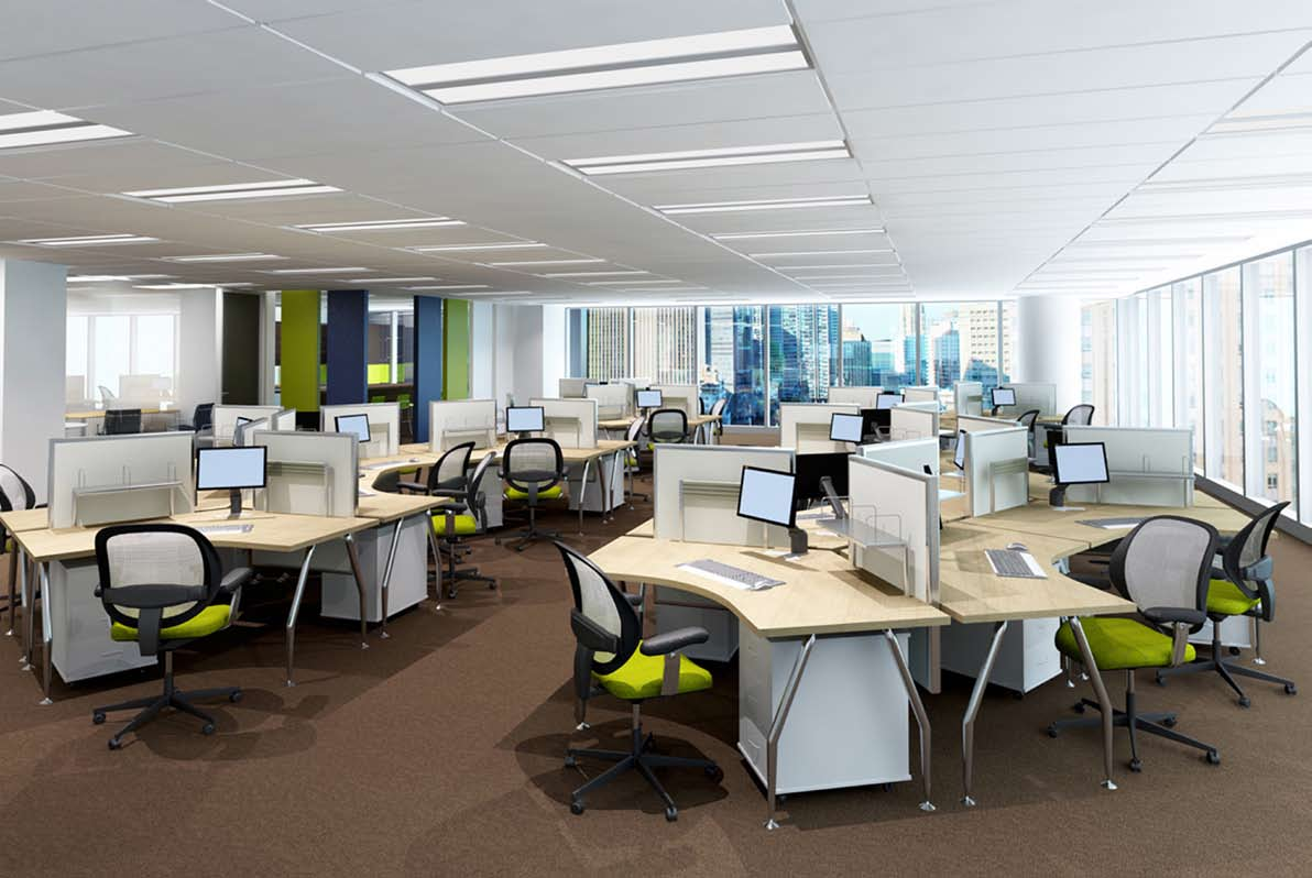 Gợi ý một số cách sắp xếp bàn ghế văn phòng theo phong thủy