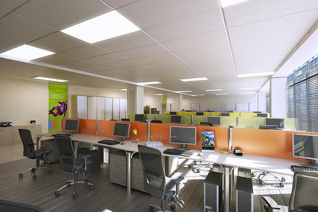 Sắp xếp thiết kế nội thất văn phòng là một trong những yếu tố quan trọng cho một không gian văn phòng phù hợp