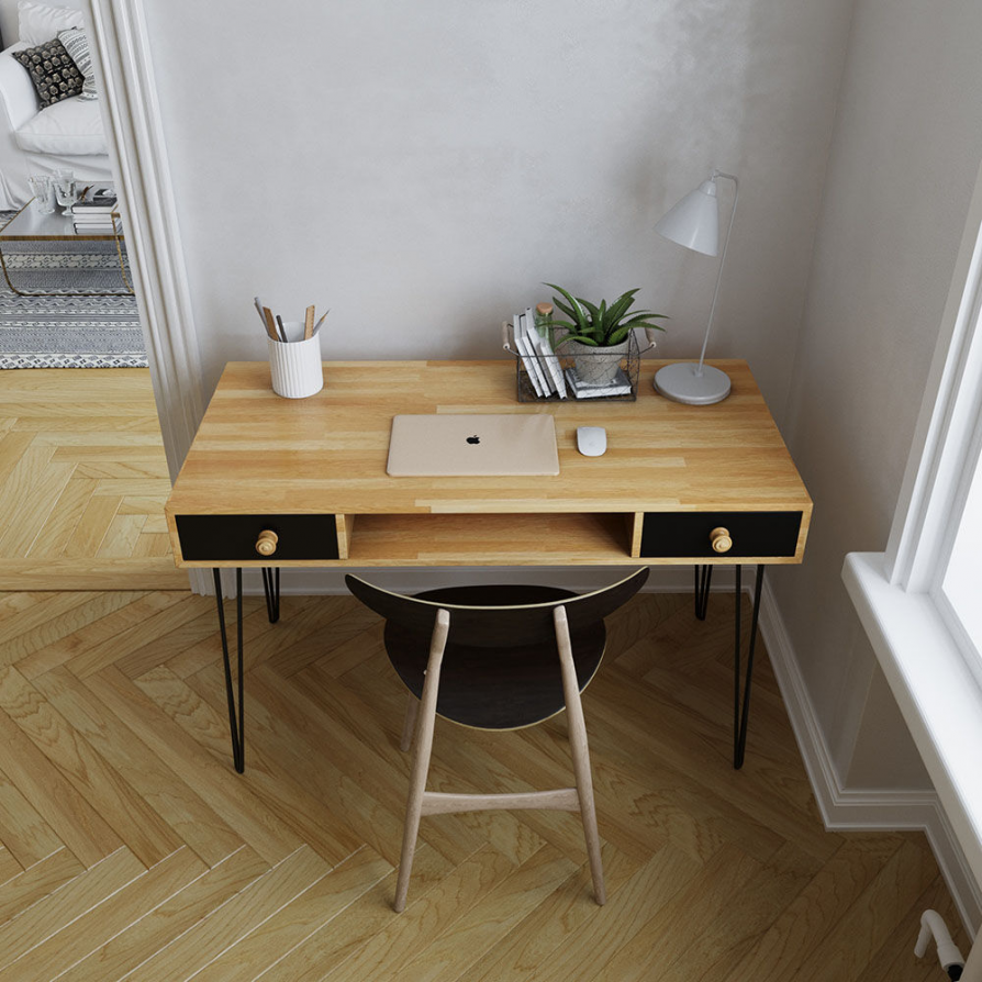 Thiết kế bàn làm việc không cần chú trọng làm đầy, người sử dụng cảm thấy thoải mái là quan trọng nhất