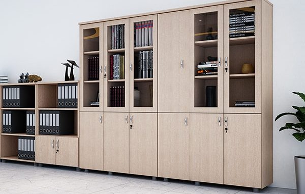 Chất liệu, thiết kế của tủ hồ sơ quyết định đến lựa chọn vị trí đặt tủ hồ sơ